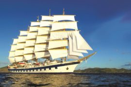 Royal Clipper Mediterranean Sailing